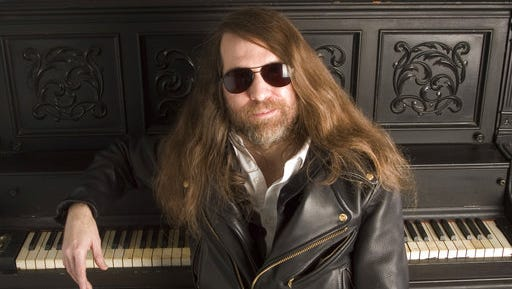 """FILE - In this Oct. 20, 2006, file photo, Paul O'Neill of Trans-Siberian Orchestra, poses in New York. O'Neill, who founded the progressive metal band, has died. University of South Florida police spokeswoman Renna Reddick told The Associated Press that O'Neill was found dead in his room by hotel staff at a Tampa Embassy Suites late Wednesday, April 5, 2017. The band said in a statement that O'Neill died from a """"chronic illness."""""""
