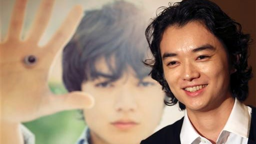 Japanese actor Shota Sometani smiles during an interview in Tokyo. In person, Shota Sometani is still and quiet, speaking in a soft, almost lackadaisical voice. His ideal acting role, he says, would be one in which he couldn't rely on facial expressions, such as a character wearing a mask. The 22-year-old, who has acted since age 7, has earned a reputation for serious acting in dozens of ambitious Japanese movies. And his gentle air is not superficial technique, but the drive to be a true actor.