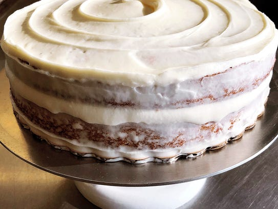 Krums Corners Bakery's Kate Smith makes carrot cake