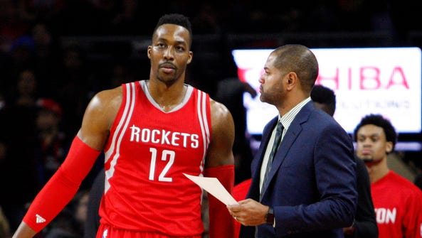 Dwight Howard is unhappy with how the Rockets have