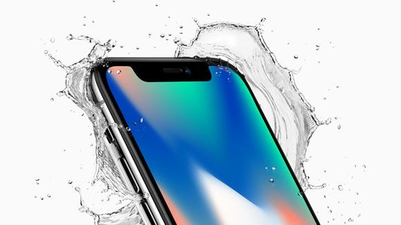 The iPhone X uses AI offline to protect user privacy.