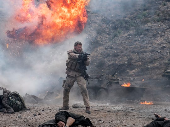 """Chris Hemsworth as Capt. Mitch Nelson in """"12 Strong."""""""
