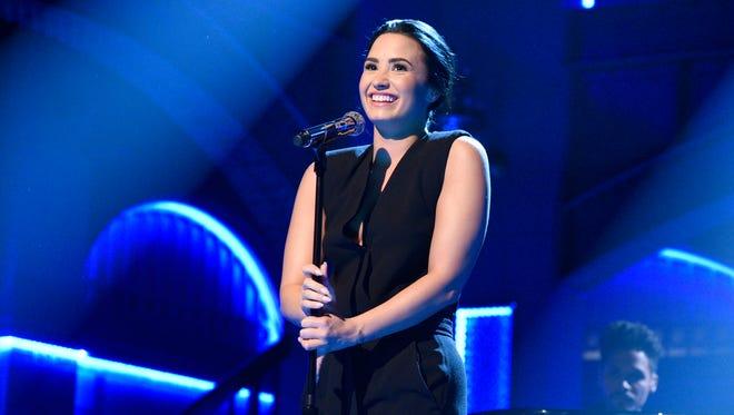 Demi Lovato will perform Sept. 7 at Bridgestone Arena.