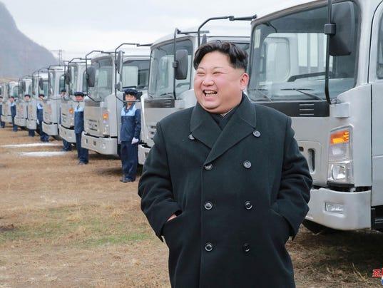 AP NORTH KOREA I PRK