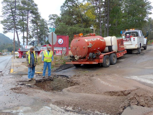 water and sewer repairs ruidoso