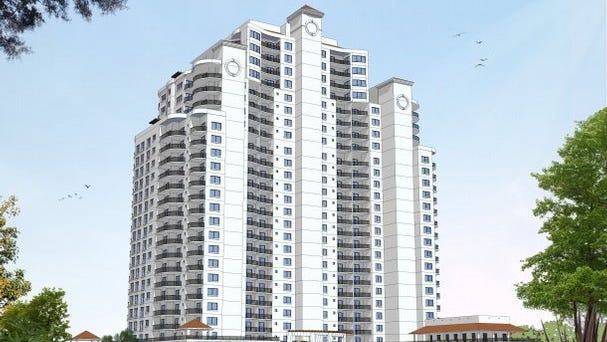 The Naples-based Ronto Group is planning a 26-story condominium in Bonita Bay