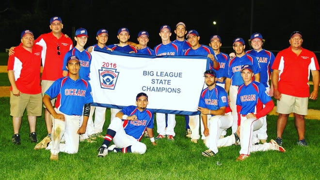 District 18 All-Stars won the Big League New Jersey State championship on Monday.