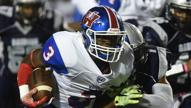 Woodlawn's Trivenskey Mosley had another big night for the Knights on Friday.