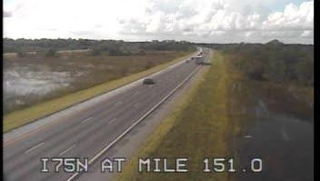 Mile marker 151 on NB I-75 in Charlotte County, 5 p.m. Wednesday.