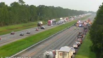Fatal crash at mile marker 174 northbound on I-75 in Sarasota County