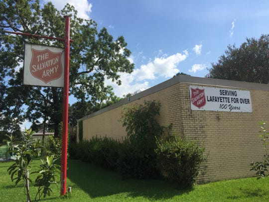 The Salvation Army in Lafayette offers shelter and programs to those trying to better themselves.