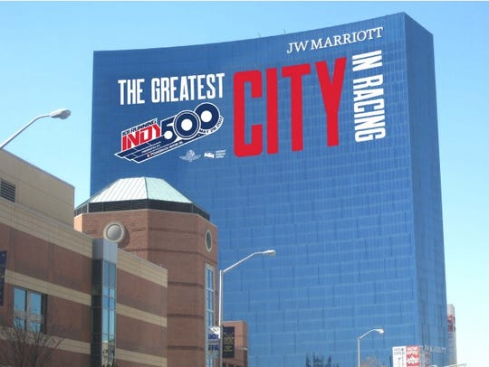 The JW Marriott in downtown Indianapolis will celebrate