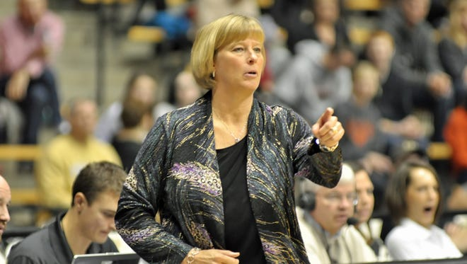 Boilermakers coach Sharon Versyp readies Purdue for the 2015-16 season.