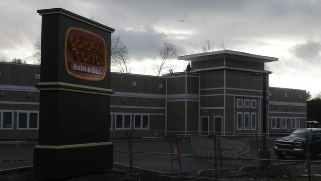 Golden Corral in the Town of Poughkeepsie, pictured on Dec. 7, is scheduled to open Jan. 15