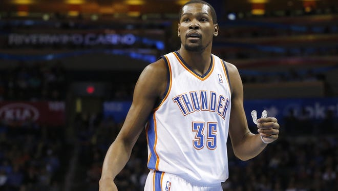 It's logical when fellow coaches with NBA experience say a healthy, happy Kevin Durant would make Billy Donovan's adjustment to the NBA quite a bit easier.