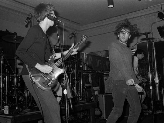 R.E.M. when the band was unknown.