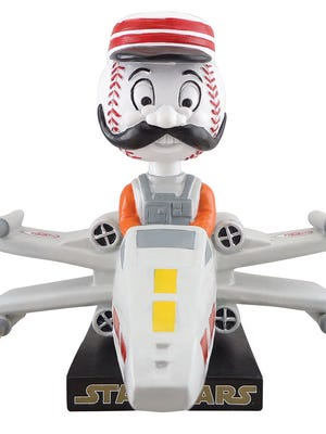 The STAR WARS™ X-Wing Fighter Mr. Redlegs Bobblehead will be given away at Great American Ball Park on Saturday, May 7.