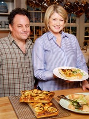 Chris Bianco of Pizzeria Bianco appears on TV with