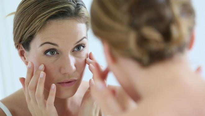 As we age, skin becomes drier, less elastic and more spotted.
