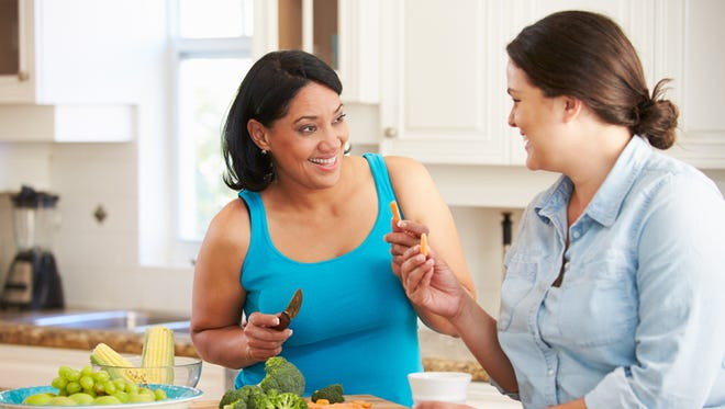 Eating more fruits and vegetables as part of a low-fat diet can help as much as blood pressure medications.