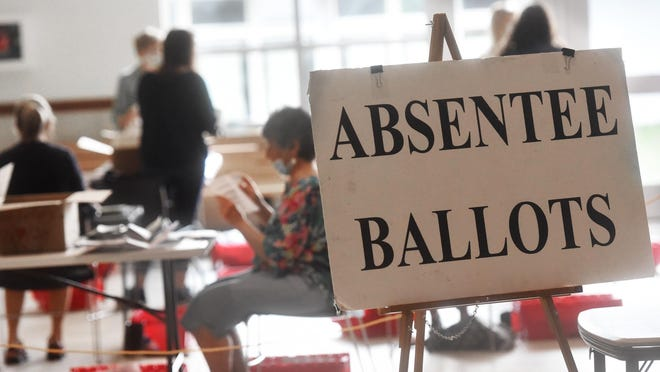 Election officials in Alabama expect a larger than usual number of absentee ballots in this year's general election.