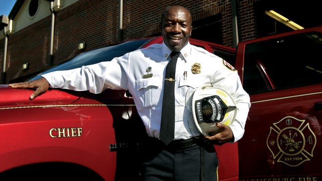 Hattiesburg Fire Chief Paul Presley has risen through the ranks since 1993 from engineer, lieutenant, captain and assistant chief to his current rank.