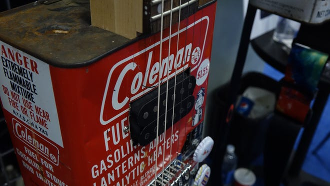 Bohemian Guitars are adapted from oil cans