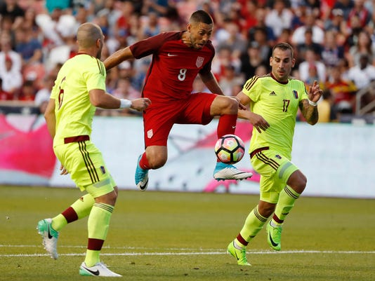 Soccer: International Friendly Men's Soccer-Venezuela at USA