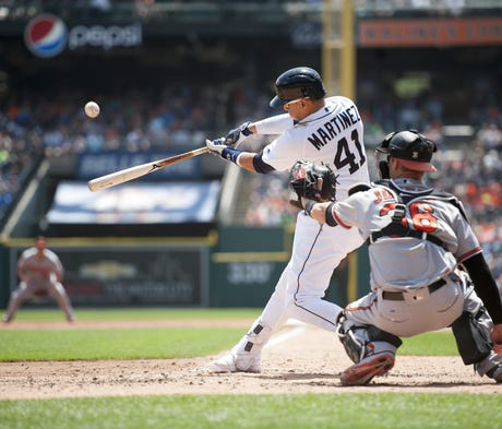 Victor Martinez says he doesn't listen to the crit...