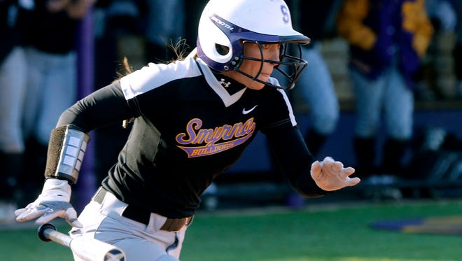 Smyrna's Lexie Harper was 3-for-4 with a triple and three runs scored in a 15-5 win over Riverdale Tuesday.