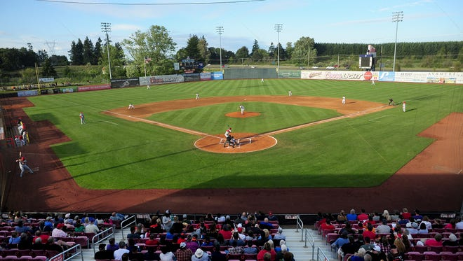 Volcanoes Stadium is expected to be a prime viewing location for the next total solar eclipse.