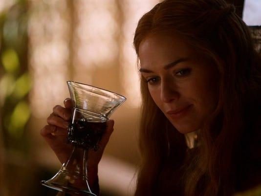 Cersei Drinking