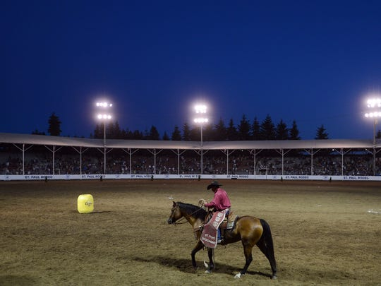 Each night of the St. Paul Rodeo will conclude with a fireworks display.