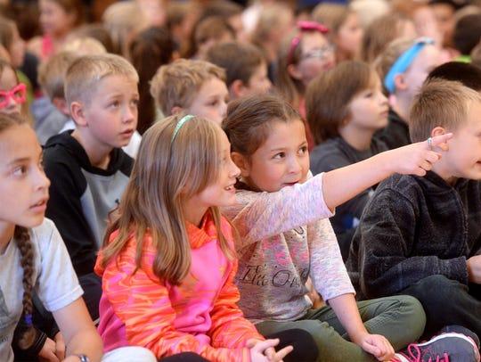 Excitement builds among the Sacajawea Elementary School
