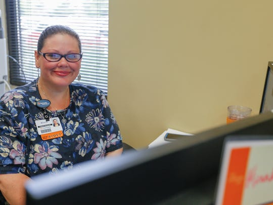 Miranda Burden is in training to become a patients