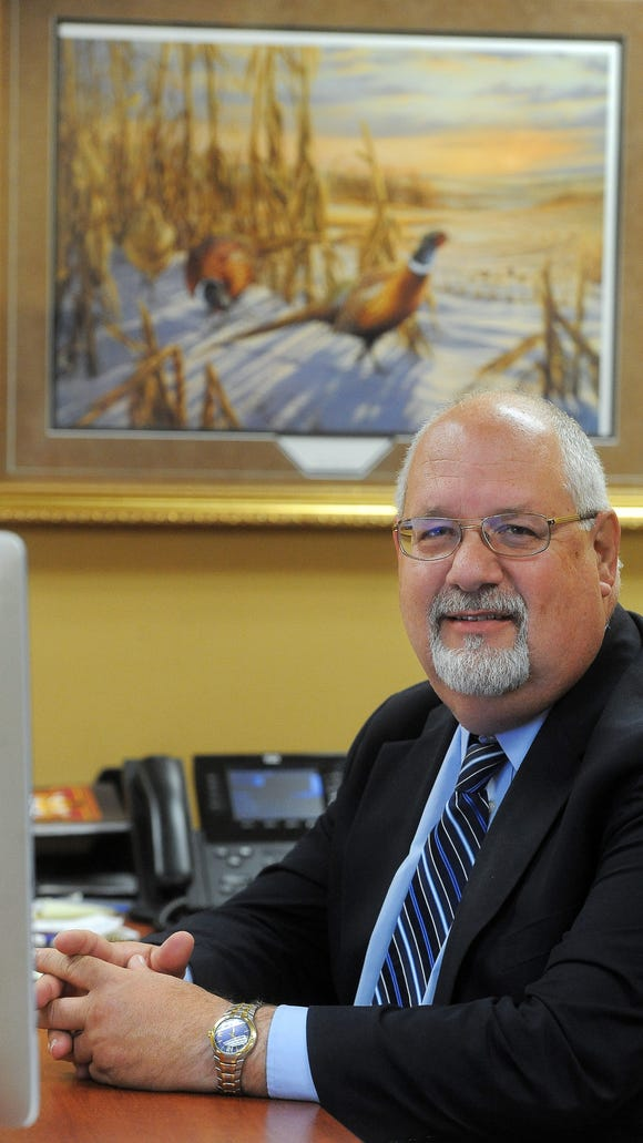 Harrisburg School District superintendent Jim Holbeck serves on an advisory committee looking into the protective trust run by the Associated School Boards of South Dakota.