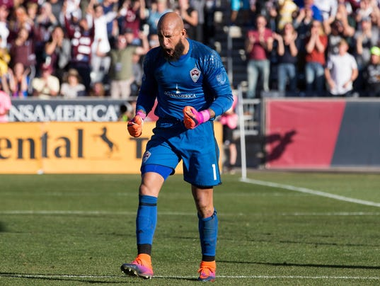 USP MLS: PLAYOFFS-LOS ANGELES GALAXY AT COLORADO R S SOC USA CO