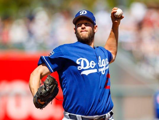 USP MLB: SPRING TRAINING-LOS ANGELES DODGERS AT KA S BBA KC LAD USA AZ