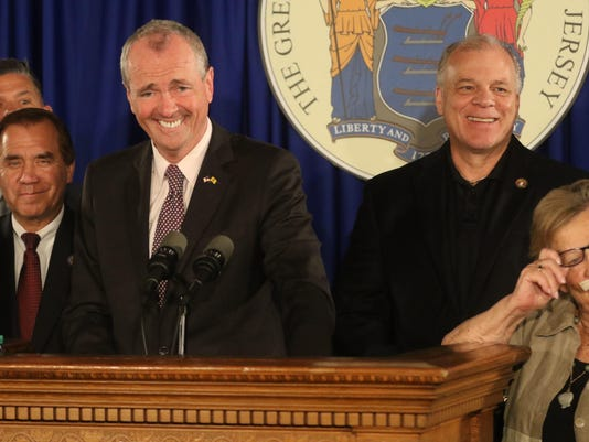 The New Jersey Governor Phil Murphy and legislature agree to a budget.
