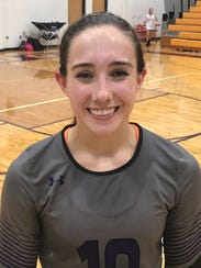 Wylie volleyball's Bailey Ann Toliver