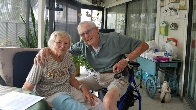 Meals on Wheels meets the needs of Jupiter residents Alice and Joe Horan.