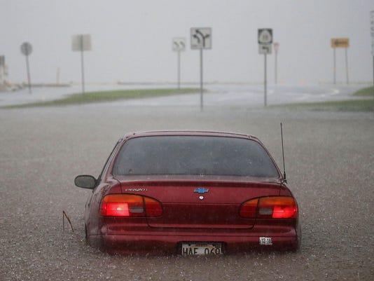 ***BESTPIX*** Residents Of Hawaii Prepare For Hurricane Lane