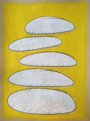 """""""Facebook Painting — December 24,"""" by Lynn Herring."""