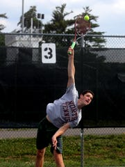 Ethan Jacobs of Clarkstown North High School, photographed June 29, 2017, is The Journal News Rockland County tennis player of the year.