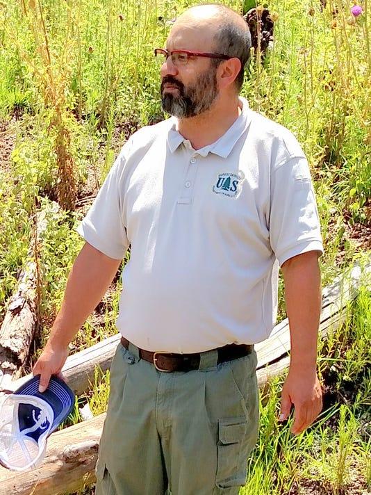 Smokey Bear District Ranger Dave Warnack