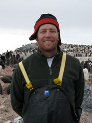 Oscar Schofield, professor of marine science and co-founder of the Rutgers University Center for Ocean-Observing Leadership, during a research trip to Antarctica.