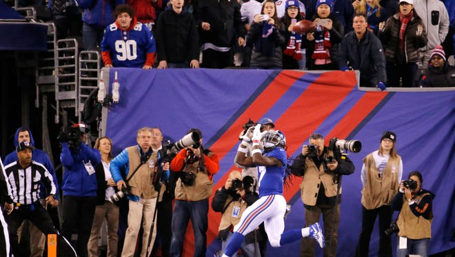 Dwayne Harris will have to fill Victor Cruz's shoes for the rest of the season.