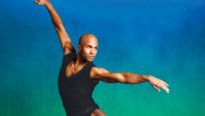 Alvin Ailey American Dance Theater's Glenn Allen Sims. The Alvin Ailey group is in Cincinnati March 3 and 4.