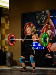 In her first national event, Brielle Atkin took third place during the National Junior Championships in Oklahoma City, Oklahoma.