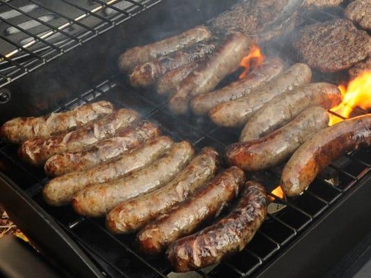brat fry hamburger fry grilling grill
